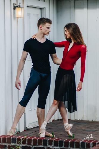 Sara Roe & Sam Ainley of Carolina Ballet