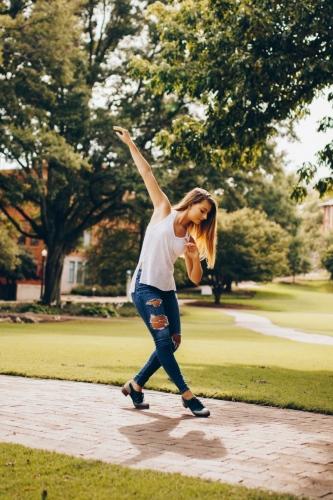 Tap Dancer in Raleigh, North Carolina taken by Dance Photographer